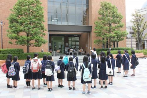 新潟中央高等学校キャンパスツアー4