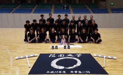 第69回全日本学生新体操選手権集合写真