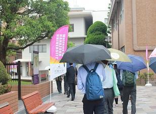 ようこそ! 京都府立洛水高等学校のみなさん